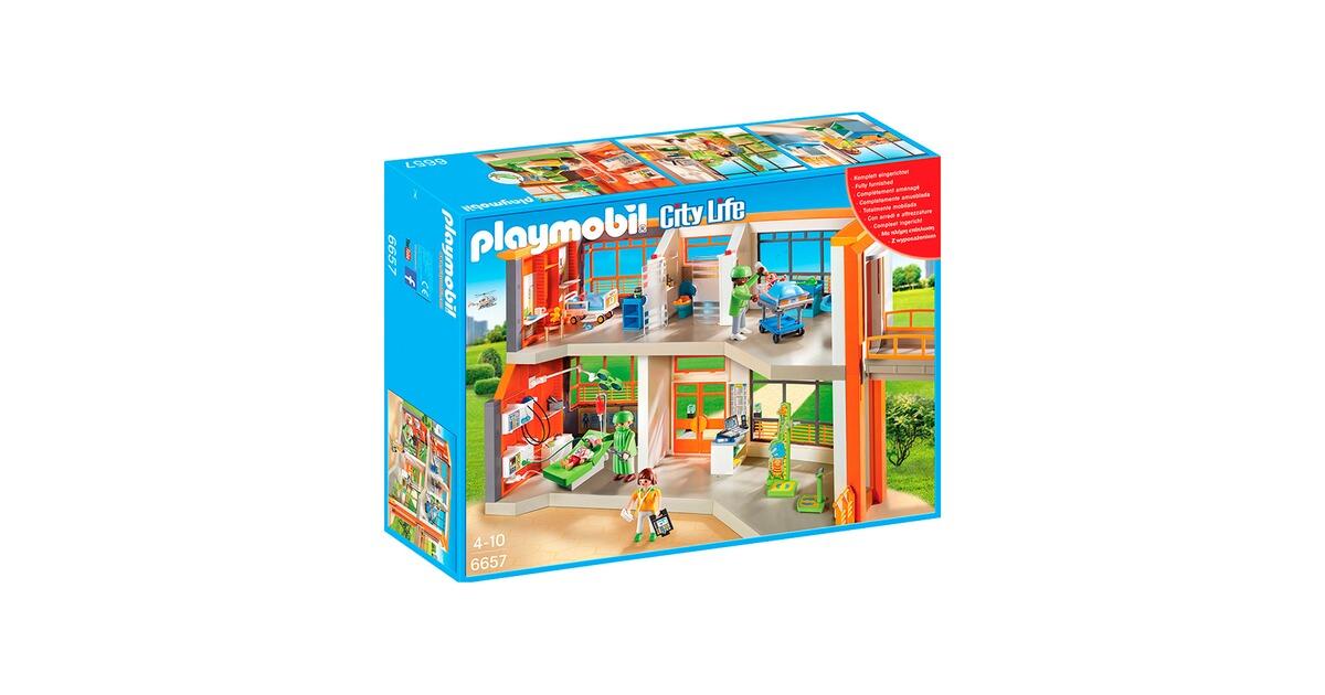Playmobil® CITY LIFE 6657 Kinderklinik mit Einrichtung ...
