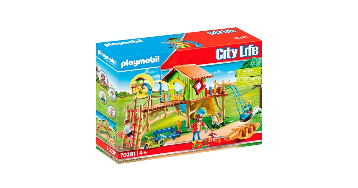 Playmobil® CITY LIFE 70281 Abenteuerspielplatz online ...