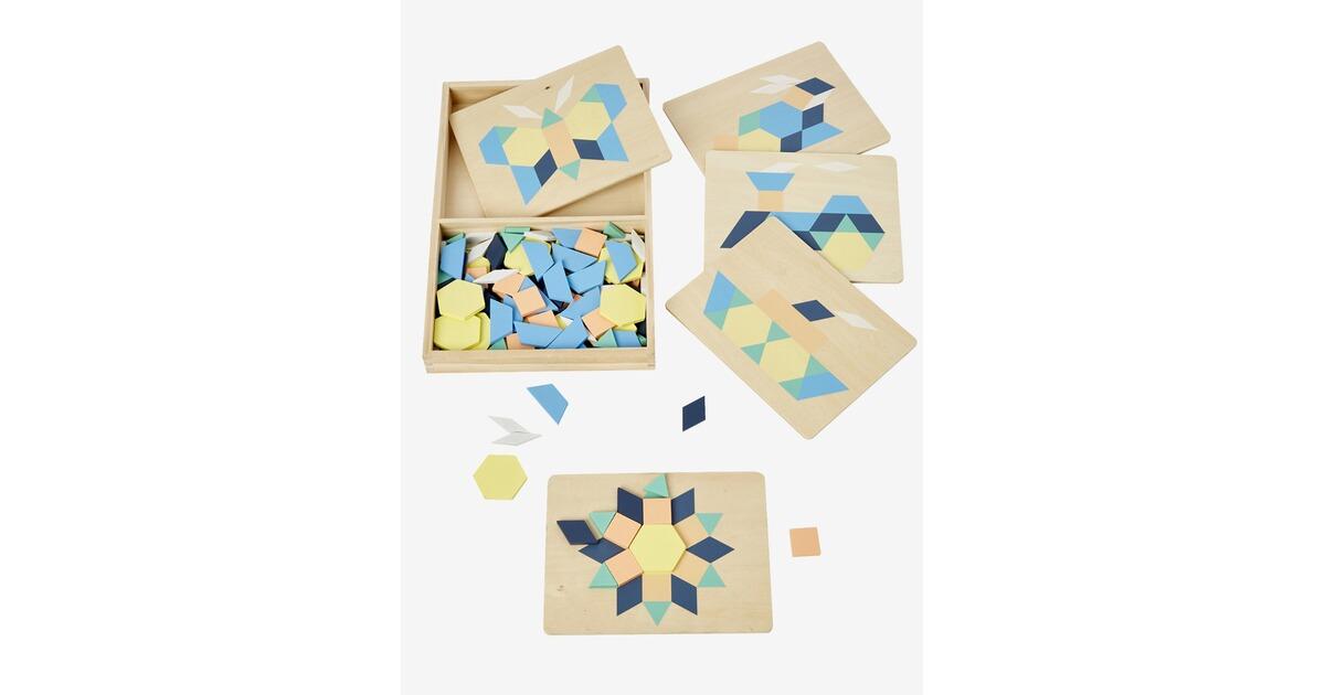 vertbaudet kinder geschicklichkeitsspiel tangram holz