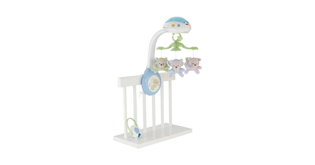 precauti Musikalische Krippe Mobile Fernbedienung Baby Mobile F/ür Neugeborene Baby Handys F/ür Kinderbetten Musik Licht Mit Tierklang Wiegenlied Drehen