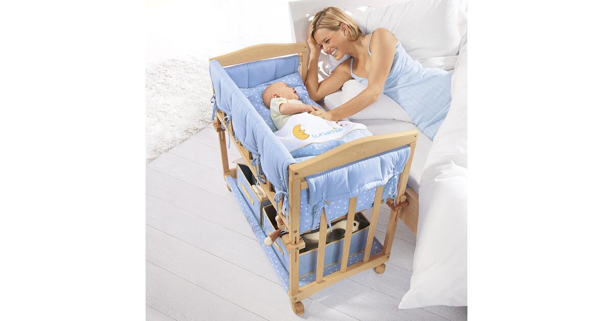 Babywiege babybett kinderbett schaukelwiege stubenwagen