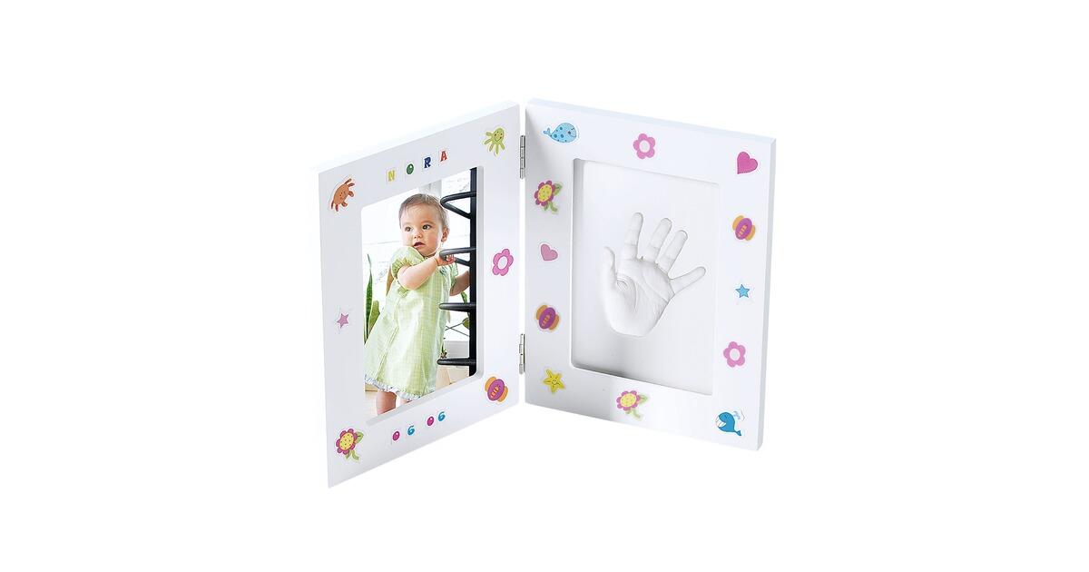 Gipsabdruck Set mit Bilderrahmen online kaufen   baby-walz