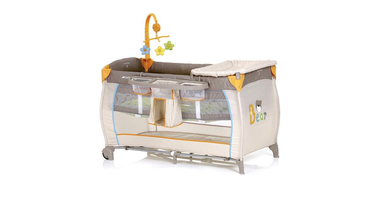 hauck babycenter reisebett bear online kaufen baby walz. Black Bedroom Furniture Sets. Home Design Ideas
