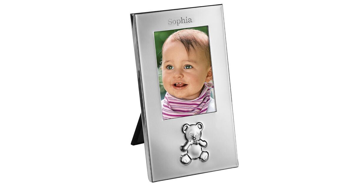 Bär-Bilderrahmen mit Namen online kaufen | baby-walz