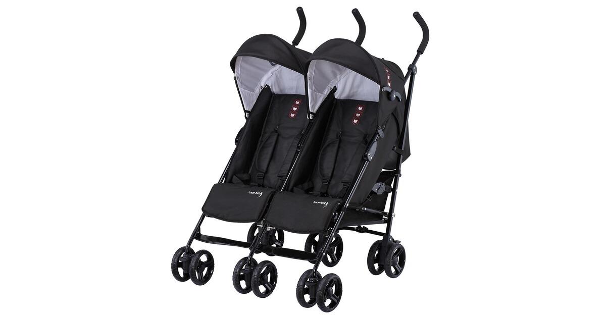 knorr baby side by side zwillings und geschwisterwagen online kaufen baby walz. Black Bedroom Furniture Sets. Home Design Ideas