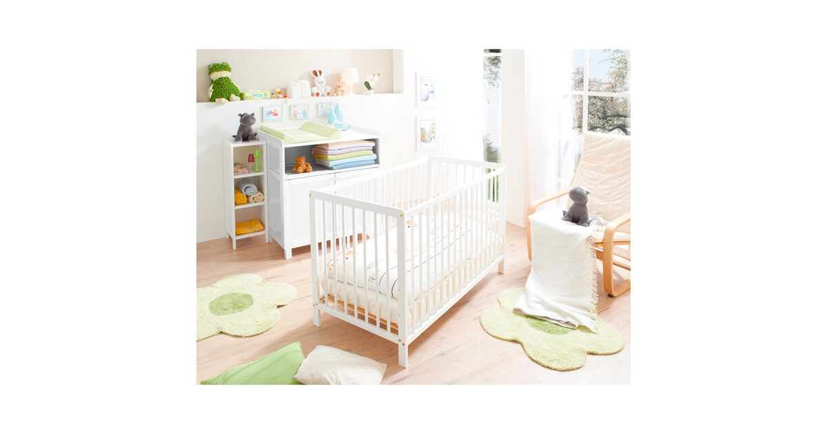 ticaa babybett 60x120 cm online kaufen baby walz. Black Bedroom Furniture Sets. Home Design Ideas