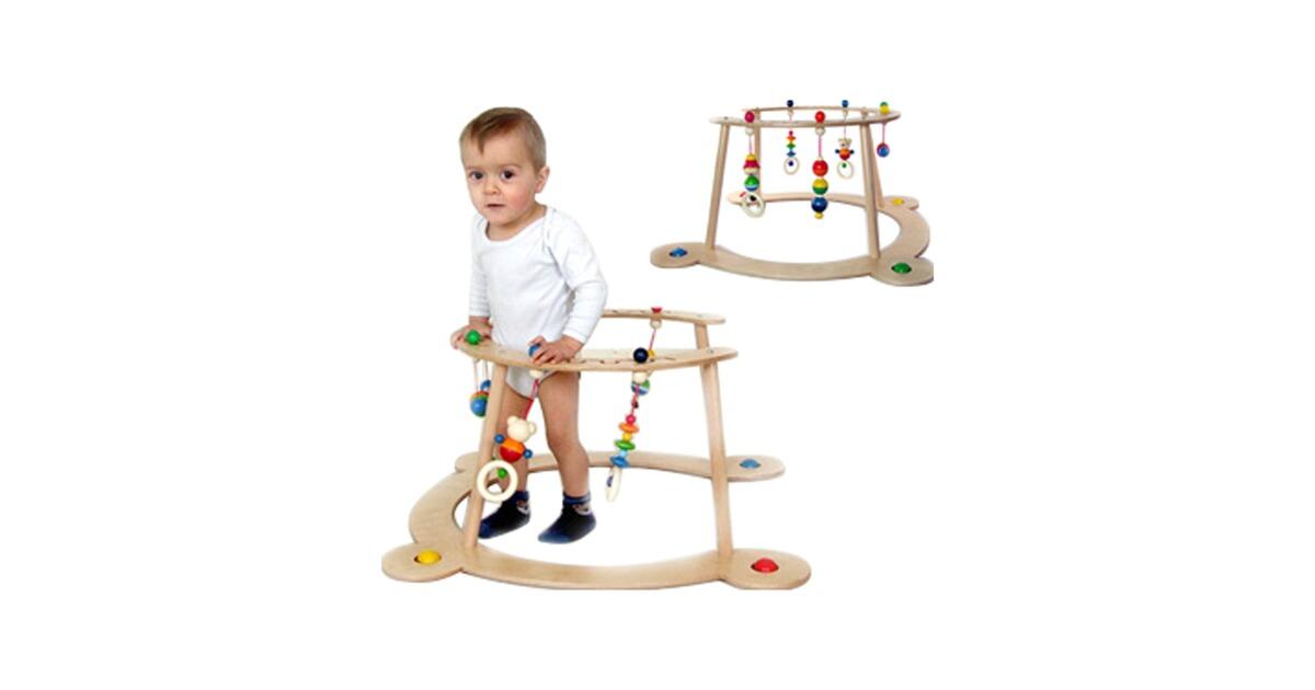 Hess spielzeug baby spiel und lauflerngerät bär henry