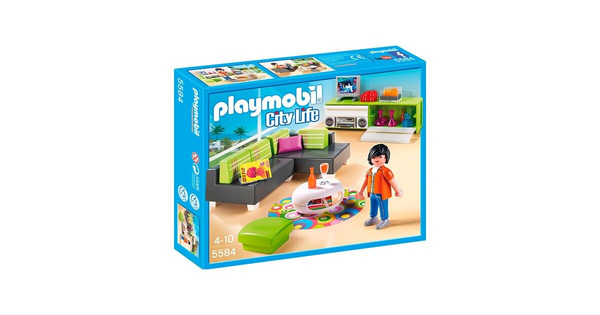 Playmobil® CITY LIFE 5584 Wohnzimmer online kaufen | baby-walz