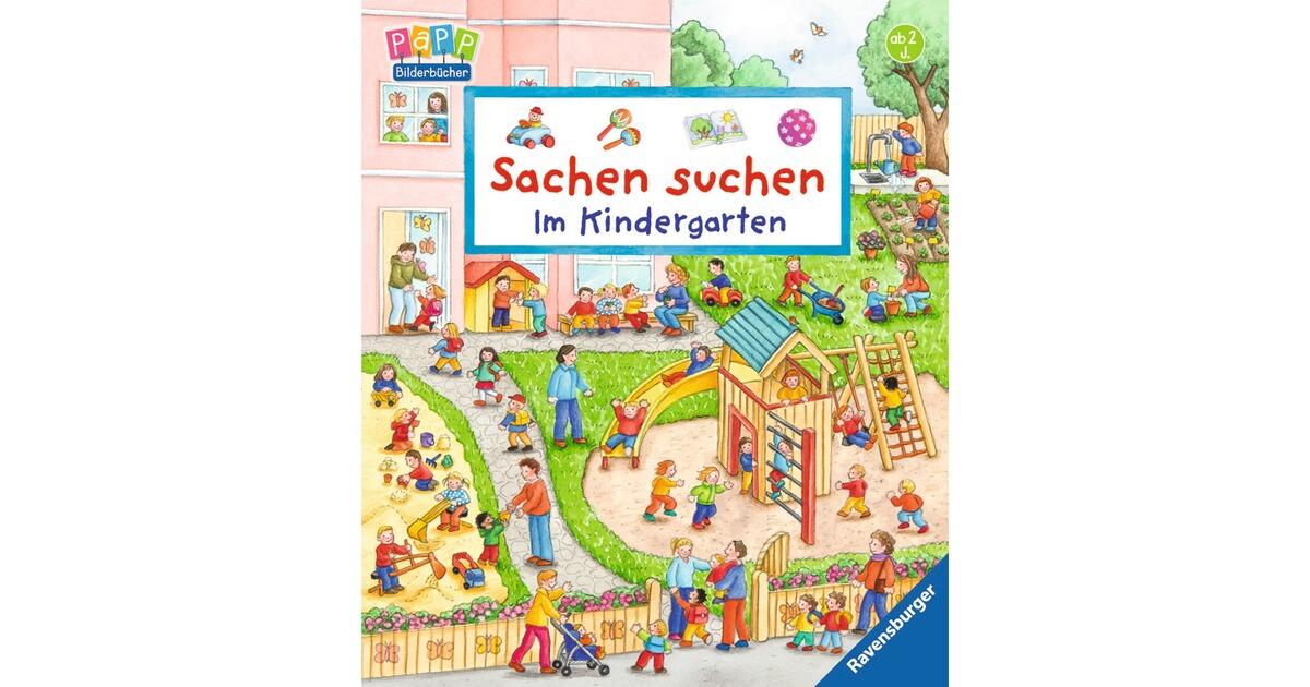 ravensburger pappbilderbuch sachen suchen im kindergarten online kaufen baby walz. Black Bedroom Furniture Sets. Home Design Ideas