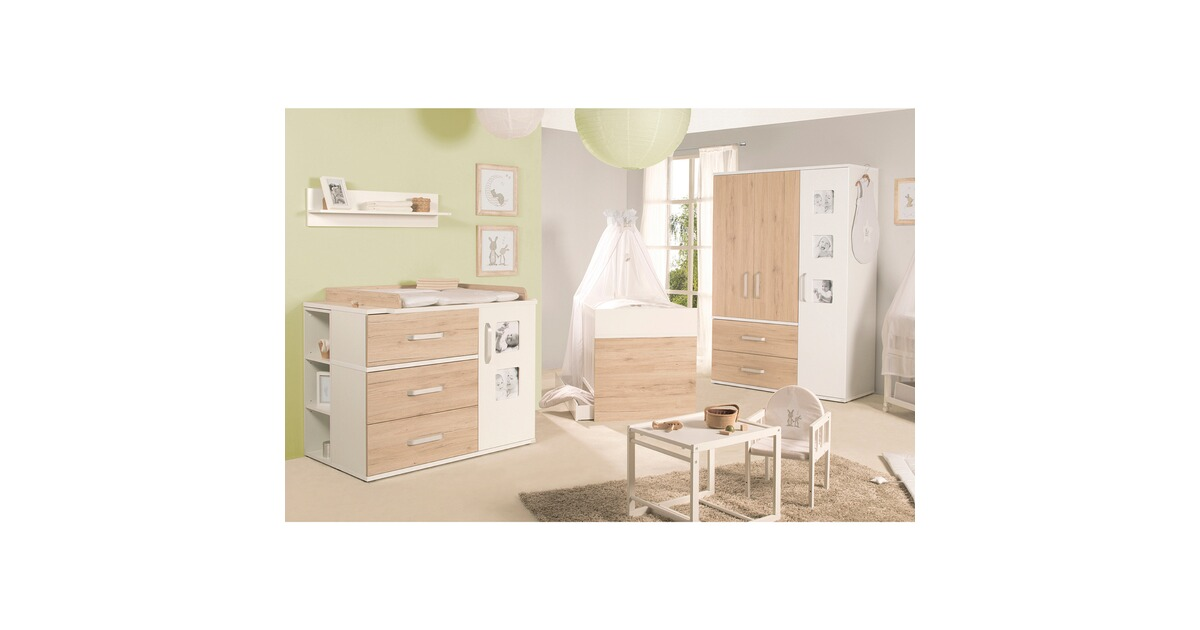 roba 3 tlg babyzimmer pepe online kaufen baby walz. Black Bedroom Furniture Sets. Home Design Ideas
