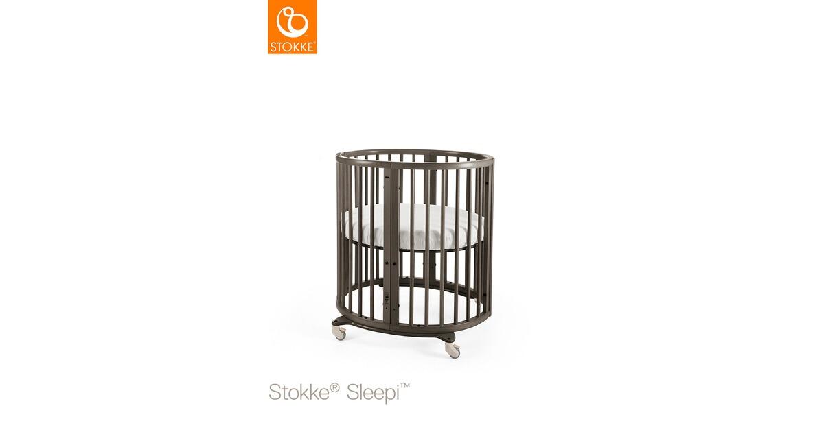 stokke sleepi babybett mit matratze sleepi minibett 0 6 monate 82x67x86 cm online kaufen. Black Bedroom Furniture Sets. Home Design Ideas