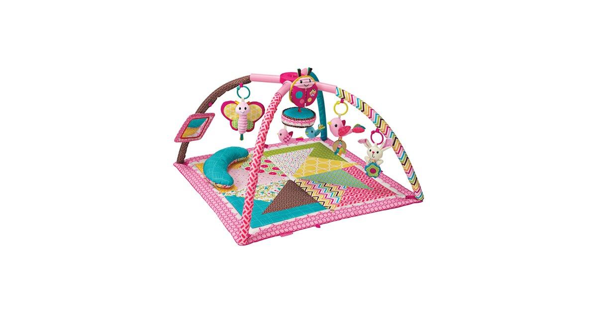 infantino spielbogen deluxe activity gym play mat online kaufen baby walz. Black Bedroom Furniture Sets. Home Design Ideas