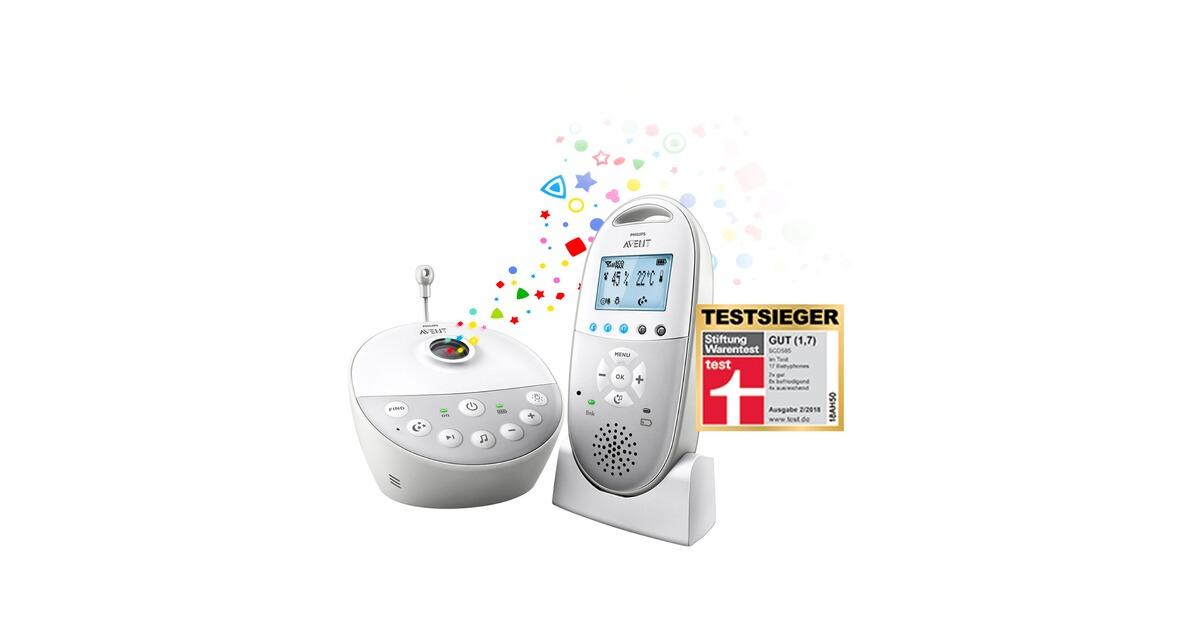 philips avent dect babyphone scd585 26 sternenhimmelprojektor online kaufen baby walz. Black Bedroom Furniture Sets. Home Design Ideas