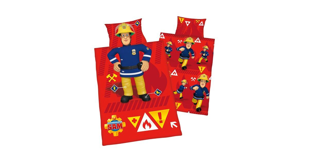 Herding Feuerwehrmann Sam Bettwäsche Feuerwehrmann Sam 40x60