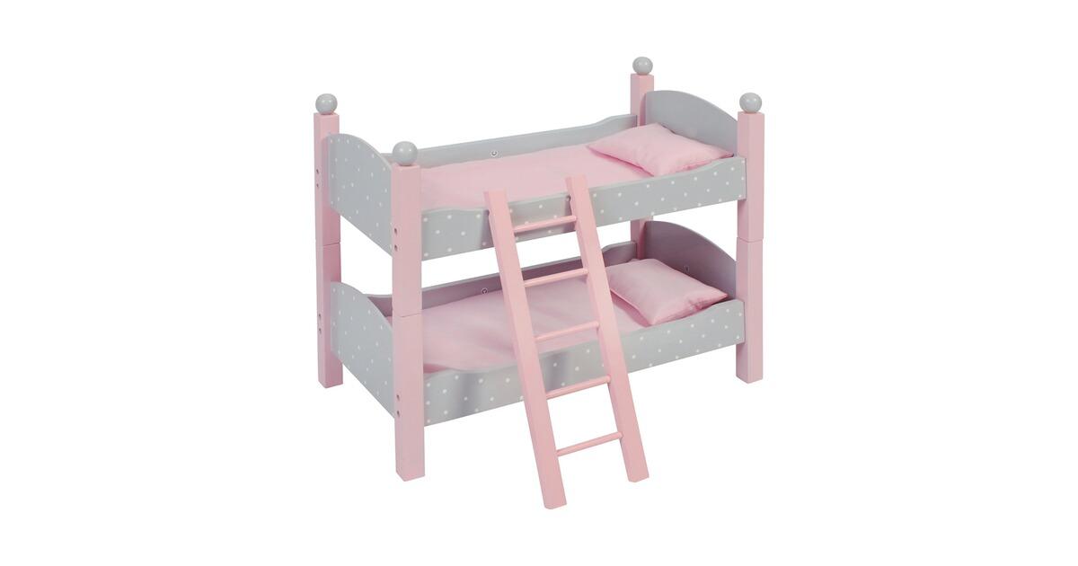 Etagenbett Baby Walz : Bayer chic puppen etagenbett puntos grey online kaufen baby walz