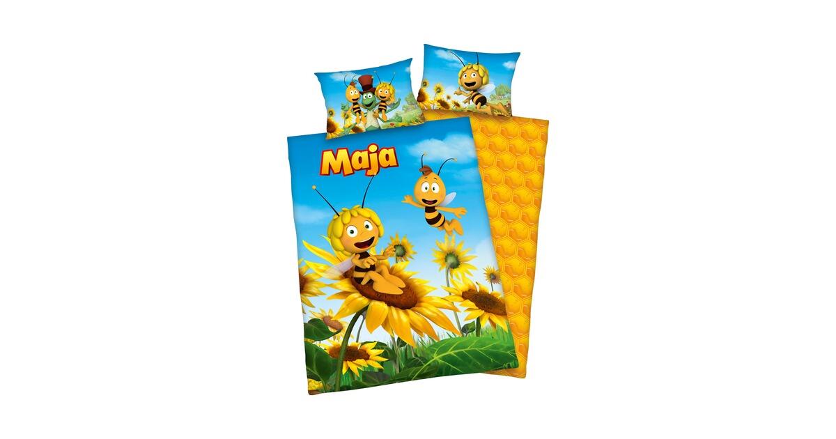 Herding Die Biene Maja Biber Bettwäsche 100x135cm Online Kaufen