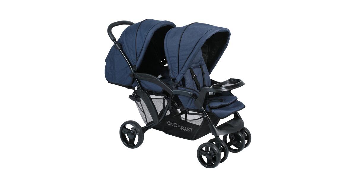 chic 4 baby doppio zwillings und geschwisterwagen online. Black Bedroom Furniture Sets. Home Design Ideas
