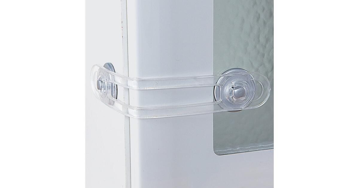 Reer 2er pack schrank und schubladensicherung online for Schrank verschluss