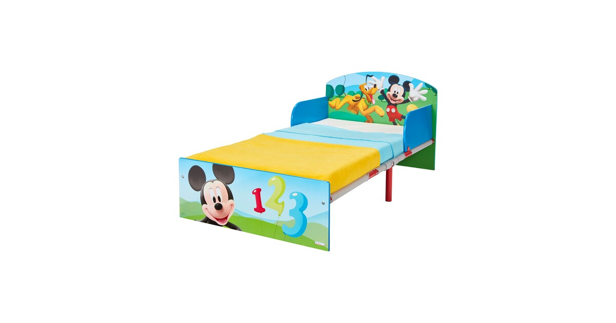 worldsapart disney mickey mouse friends kinderbett mickey 70 x 140 cm online kaufen baby walz. Black Bedroom Furniture Sets. Home Design Ideas