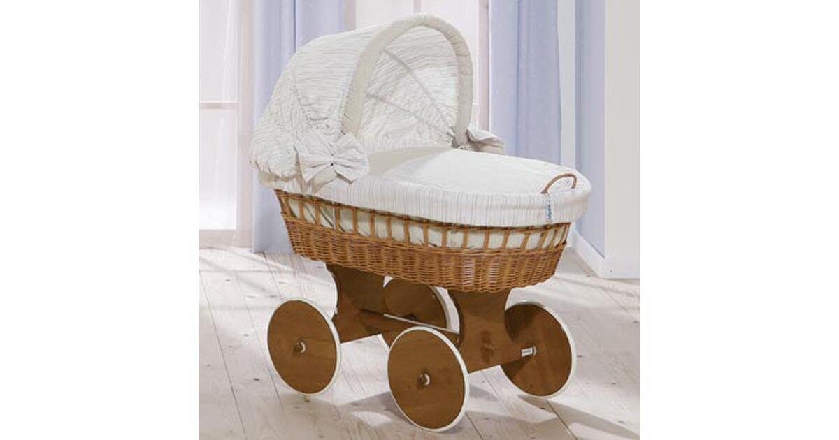 Tolo große sterne baby stubenwagen weidenkorb bollerwagen mit