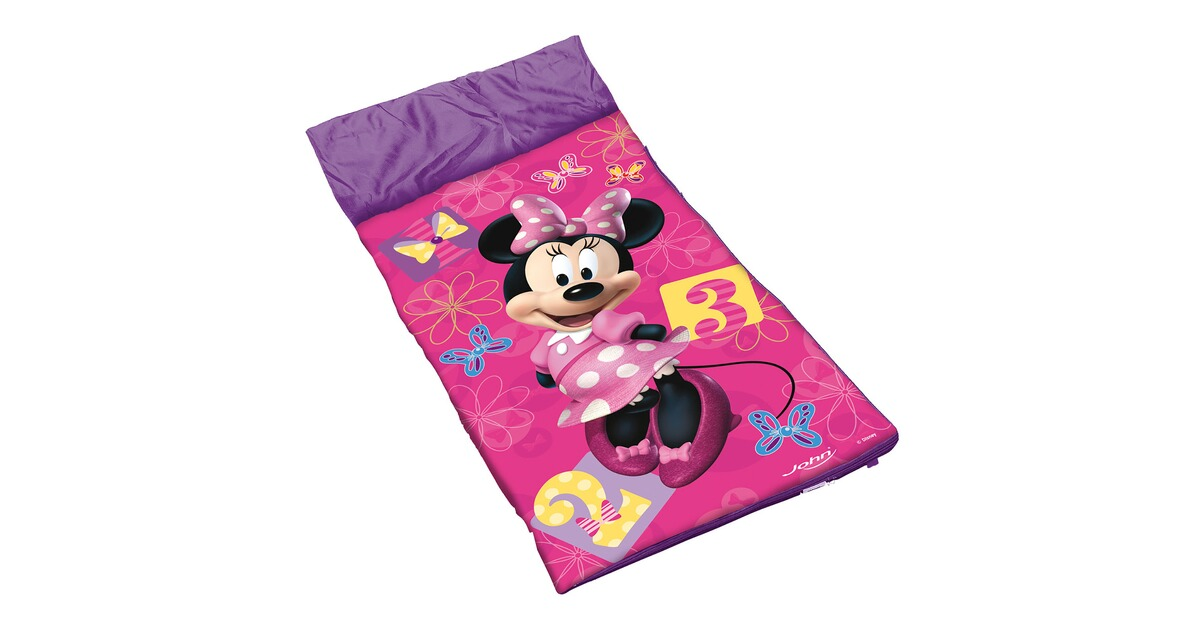 john minnie mouse kinder schlafsack disney minnie mouse online kaufen baby walz. Black Bedroom Furniture Sets. Home Design Ideas
