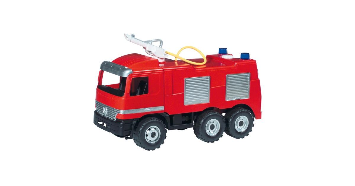 Traktor frontlader rot fahrzeug bagger sandkasten lena neu