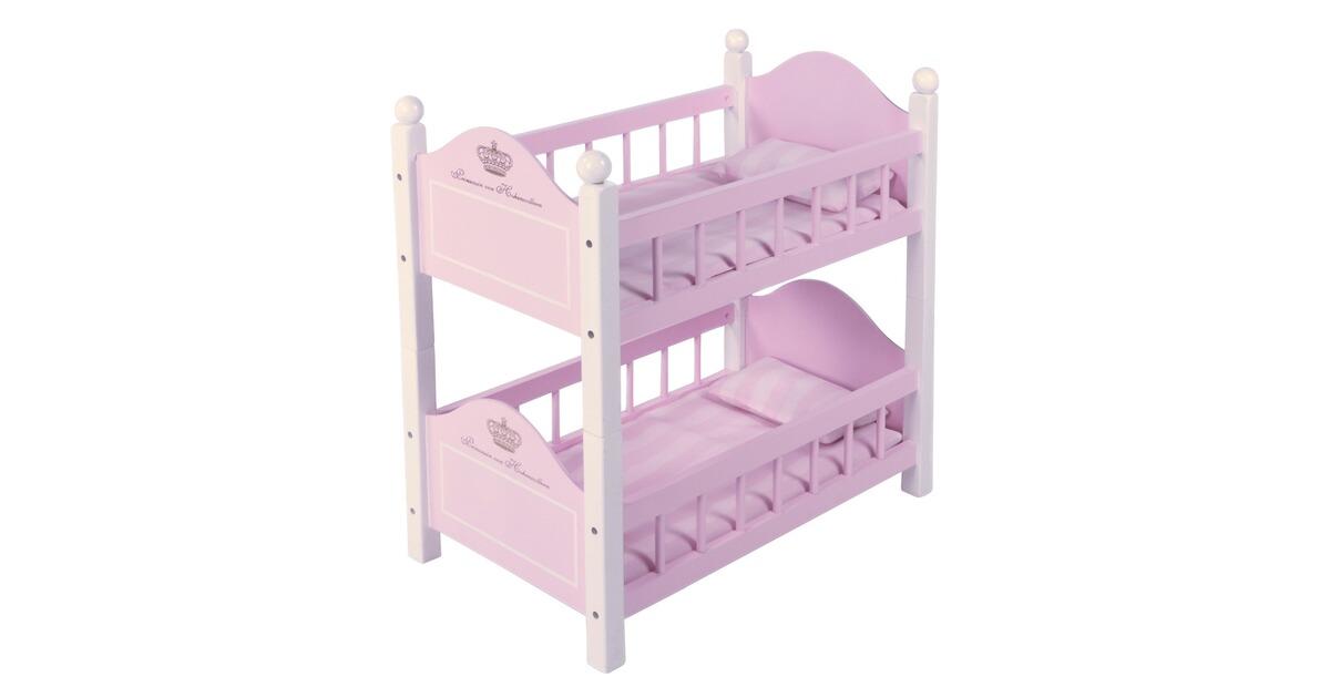 Etagenbett Baby Walz : Knorrtoys maja princess puppenhochbett online kaufen baby walz