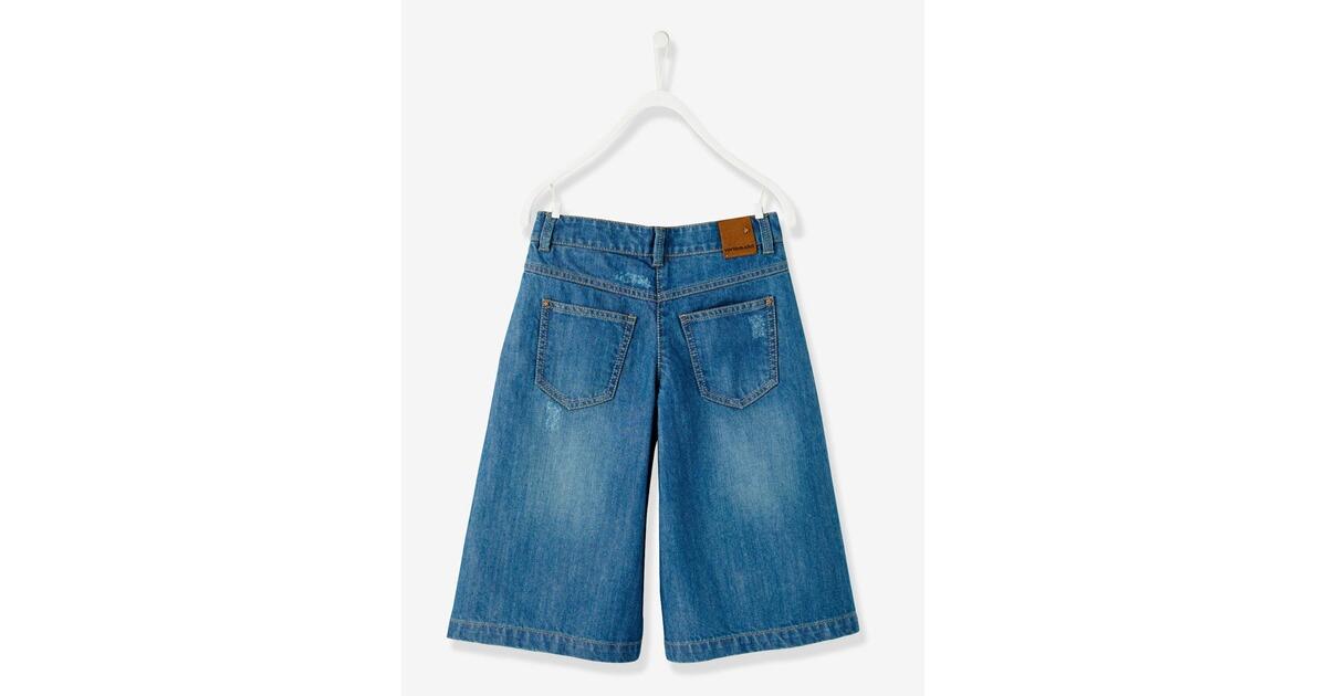 Vertbaudet Mädchen Culotte - Trendhose mit weitem Bein online kaufen   baby- walz 74aa9b236d