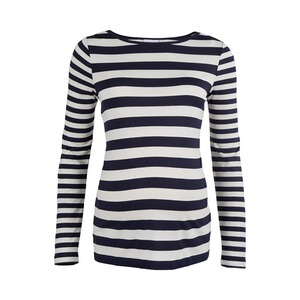 2hearts  Umstands-Shirt langarm Maritime Stripes