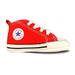 Converse  Babysneakers Chuck Taylor First Star mit Schnürung  rot