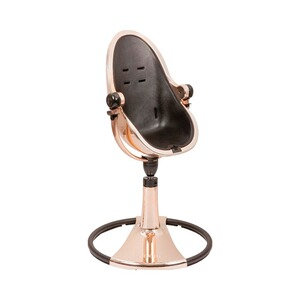 bloom FRESCO Hochstuhl Chrome Gestell  rosegold