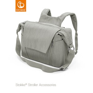 Stokke® TEXTILES Wickeltasche  brushed grey