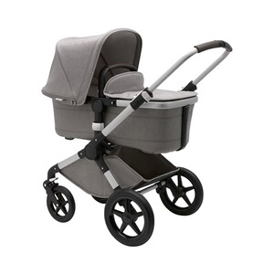 Bugaboo FOX Sitzbezug Style Set Complete inkl. Verdeck Mineral Kollektion  Light Grey