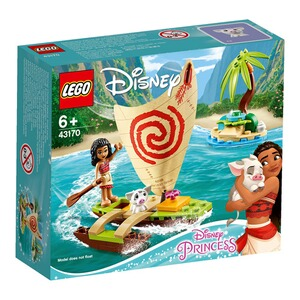 LEGO®DISNEY PRINCESS43170 Vaianas Boot 1