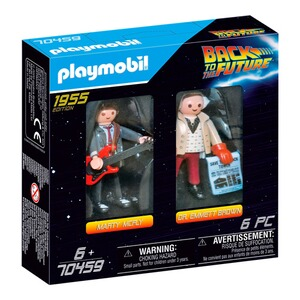 Playmobil® Back to the Future 70459 Back to the Future Marty McFly und Dr. Emmett Brown