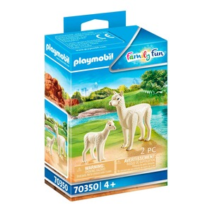 Playmobil®FAMILY FUN70350 Alpaka mit Baby 1