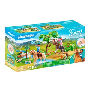 Playmobil® SPIRIT RIDING FREE 70330 Herausforderung am Fluss