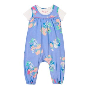 Tom Joule2-tlg. Set Body kurzarm und Jumpsuit Blumen 1