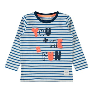 NAME ITShirt langarm Ringel You & Me 1
