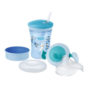 NUKTrinklernbecher All-in-1 Set  blau 1