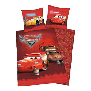 Herding DISNEY CARS Renforcé-Bettwäsche 80x80 / 135x200 cm