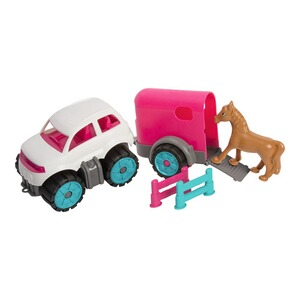 BIGPower-Worker Mini Ponytransporter-Set 1