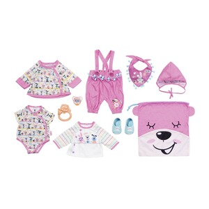 Zapf Creation BABY BORN Puppen Outfit Erstausstattung Set Deluxe 43cm