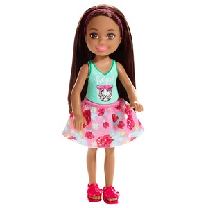BarbieClub ChelseaBarbie Chelsea Puppe mit Fierce top 1
