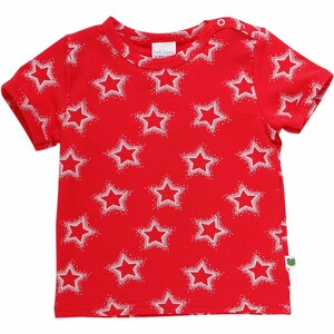Fred`s World  T-Shirt  Traffic red