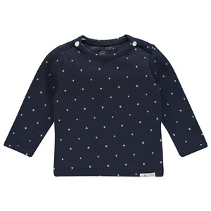 NoppiesLangarmshirt Collin  Navy 1
