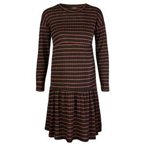 SupermomKleid Stripe  Tortoise Shell 1