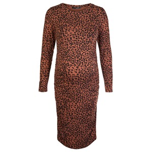 SupermomKleid Brown Leopard  Tortoise Shell 1