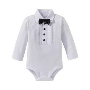 Bornino Festliche Mode Body Langarm Hemd Mit Fliege Online Kaufen Baby Walz