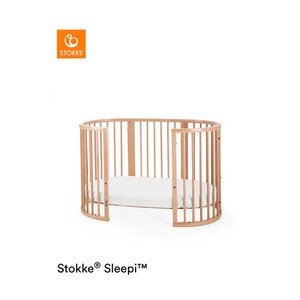 Stokke® SLEEPI™ Babybett mit Matratze Sleepi 120 cm (6 - 36 Monate)  Natural
